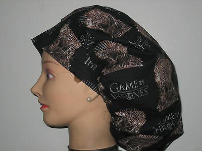 Surgical Scrub Hats/Caps Game of Thrones