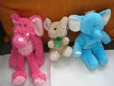 Bundle Of Soft Toy Elephants