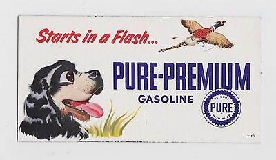 Pure Gasoline Gas Blotter Dog and Flying Bird Starts in a Flash