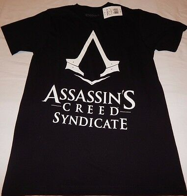 Assassin's Creed Syndicate Men's size Small T-Shirt Black New With Tags!!!