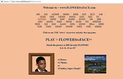 FLOWERS to FACE™ app is FOR SALE
