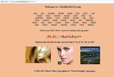 HAIR to FACE™ app is FOR SALE