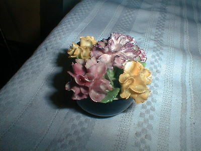 Pretty Coalport England Bone China Flowers