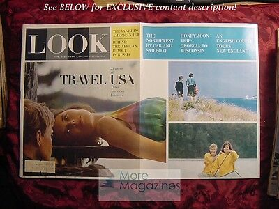 LOOK May 5 1964 TRAVEL USA NORTHWEST NEW ENGLAND South-MIDWEST ERICH FROMM