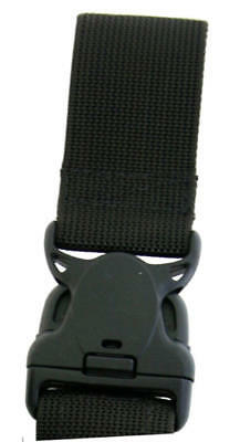 Safariland 6005-7-2 Black Top Strap & Buckle Tactical Thigh Holster Replacement