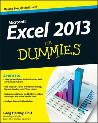 Excel 2013 for Dummies, Book + DVD Bundle by Greg Harvey 9781118510124