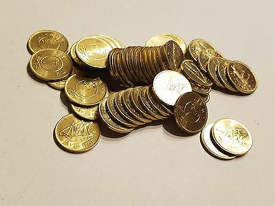 Kuwait 1 Fils AH1393 1973 KM# 9 Key Date Roll of 50 Brilliant Uncirculated Coins