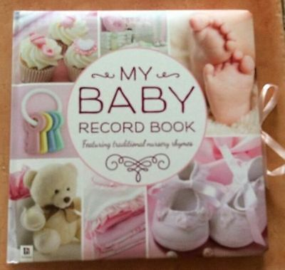 1 x girl My Baby Memory Book Brand New gift book Hinkler  1st Year Record