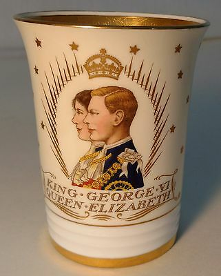 Commemorative 1939 First Visit to U.S. of King George and Queen Elizabeth Cup