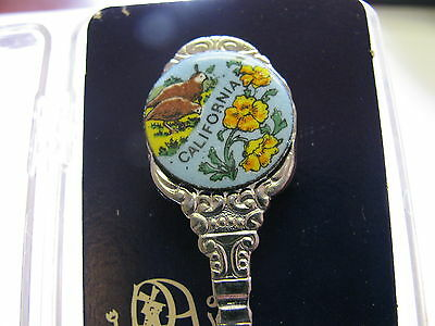 California Collectors Spoon  Made In Holland Mint In Original Box  4 1/2""
