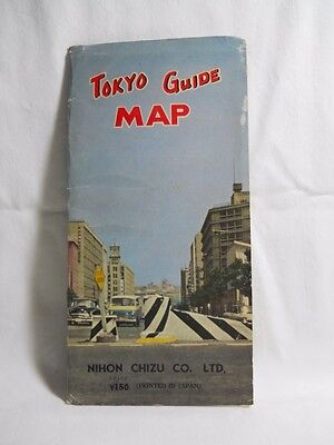 Lot Of 3 1950's Tokyo Japan Maps Charles Tuttle Us Army Map Service Ninon Chizu