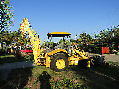 New Holland Loader Backhoe LB 75B - 2400 original hrs.