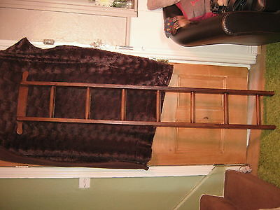 Vintage Wooden Ladder/Library Ladder/Towel Rail