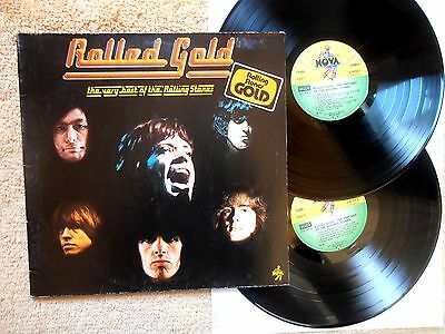"""Rolled Gold-The Very Best Of The Rolling Stones  Album 2 LP 12"""" Nova  6.28356 D"""