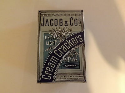 Vintage Jacob And Co Cream Cracker Tin