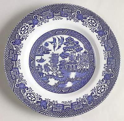 Wood & Sons BLUE WILLOW Bread Plate 5950232