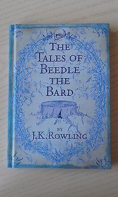 The Tales of Beedle The Bard by J. K. Rowling 1st Edition Hardback Book