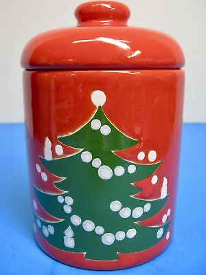 """WAECHTERSBACH (Germany) """"Christmas Tree"""" Candy Container or Tea Canister"""