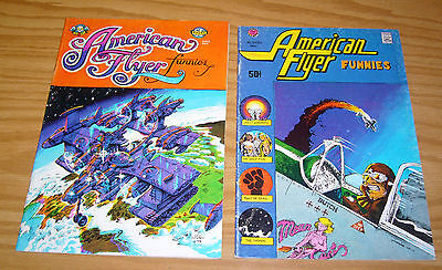 American Flyer Funnies #1-2 FN- complete series larry todd - welz - sutherland