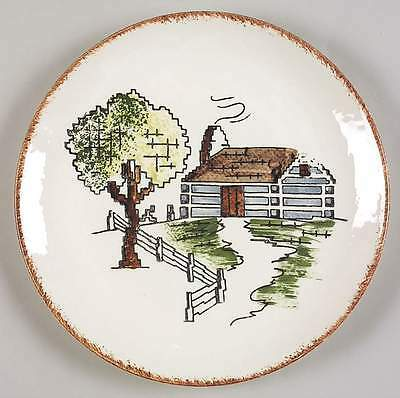 Blue Ridge Southern Pottery EVENTIDE Dinner Plate 6966352