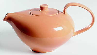 Iroquois Russel Wright CASUAL CANTALOUPE Tea Pot 1799859