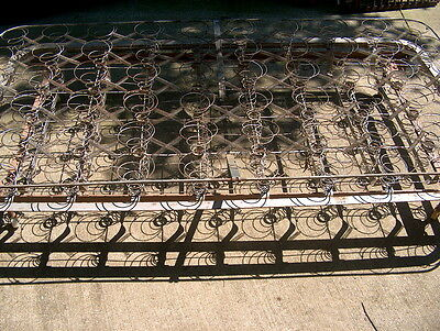 """Iron Antique Single Bed Springs Great Condition. """"these Make Great Trellis's"""""""