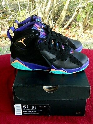 """Authentic Air Jordan 7 Retro 30th GG """"Lola Bunny"""" 5Y Youth Sneakers Shoes"""