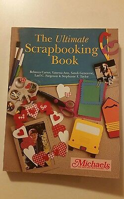 Ultimate Scrapbooking Book,Michaels,Tools,Techniques,Cutout Patterns