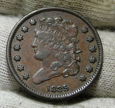 1835 Classic Head Half Cent - Nice Coin- Only 398,000 Minted (5949)