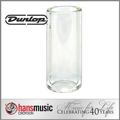 Jim Dunlop Tempered Glass Guitar Slide, Heavy wall, Large 213 *NEW* 23x32x69