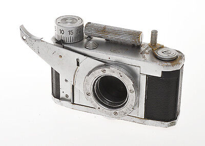 Zeiss Ikon Tenax X-Ray X Ray, very rare special camera 24x24mm c.1941, exc=