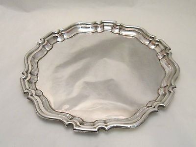 A Fine Silver Plated on Copper Tray - c1920 - Sheffield