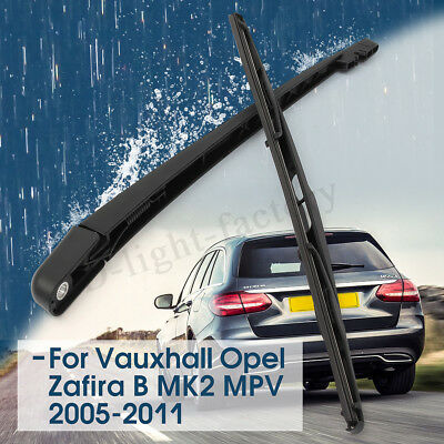 Rear Window Wiper Arm And Blade For Vauxhall/Opel Zafira B Mk 2 | MPV | 2005-11
