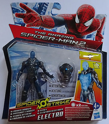 HASBRO® A5705 The Amazing Spider-Man 2 Schock-Attacke Electro Figur 10cm