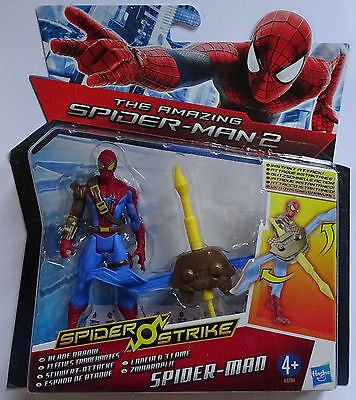 HASBRO® A5704 The Amazing Spider-Man 2 Schwert-Attacke Spider-Man Figur 10cm
