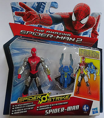 HASBRO® A5701 The Amazing Spider-Man 2 Klingen-Attacke Spider-Man Figur 10cm