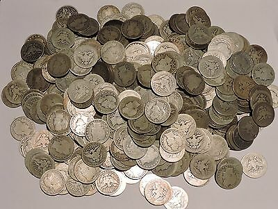Barber Quarters - Set of 4 Silver Coins - $1.00 Face Value - See details . . .