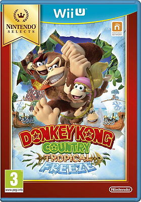 Donkey Kong Country Returns - Tropical Freeze (Selects) (Wii U) [New Game]