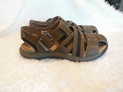 Men's Merrell, Brown Leather, Sport Sandals, Shoes, Size 7