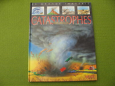 French educational book * CATASTROPHES NATURELLES * Fleurus,  free shipping