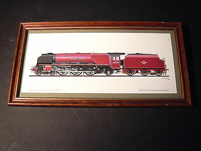 OO gauge - Framed print - BR - 46229 - Duchess of Hamilton - Lot 2