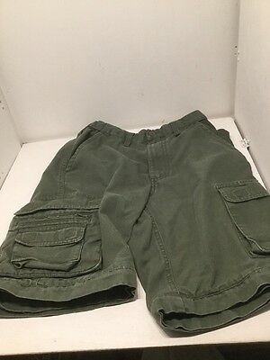 Boy Scouts of America Convertible Shorts Youth Size 10 Olive Drab -No Legs