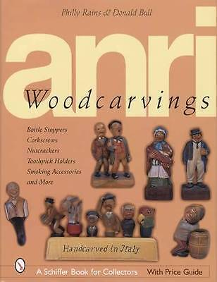 ANRI Vitnage Carved Wood Figurines Bottle Stoppers More Collector ID Price Guide