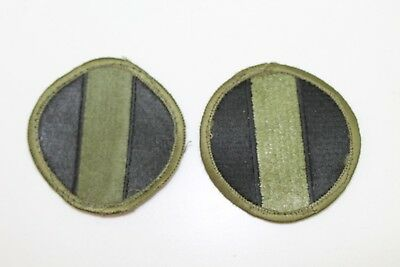 US Army Ground Forces patch subdued lot of 2 P9455