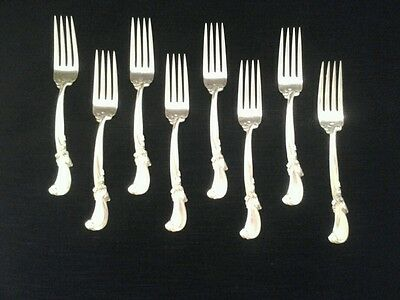 Wallace Sterling Waltz Of Spring Salad Forks X 8