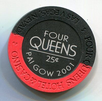 Fractional Chip 25 cent Four Queens Casino Las Vegas NV
