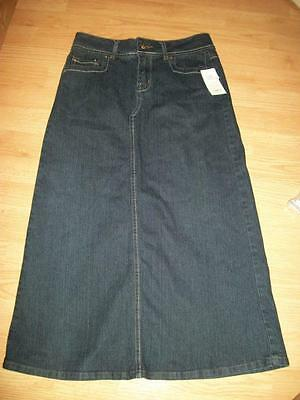 New with tag Girls tag sz.14 CATO long denim skirt