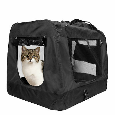 Cat Carrier Portable Pet Crate Soft Sided Comfort Travel Crate