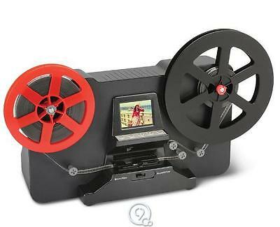 Hammacher Schlemmer 8mm and Super8 Film Video Movie Converter Digitizer 1080 dpi
