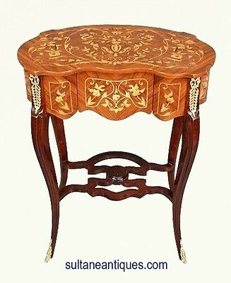 in 4 weeks! kidney shaped Louis XV side table commode